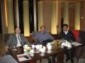 中国钾盐工业行业协会会长魏成广会见国际钾肥研究所秘书长Hillel Magen