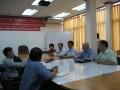 老挝国家矿产局西蒙局长等领导与魏成广会长米歇尔秘书长亲切交流老挝钾盐发展情况 (1图)